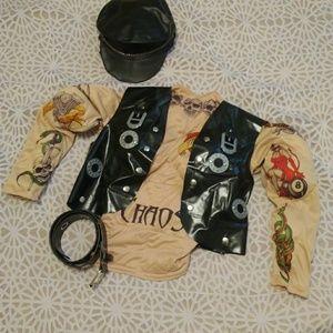 Other - Biker tattoo costume